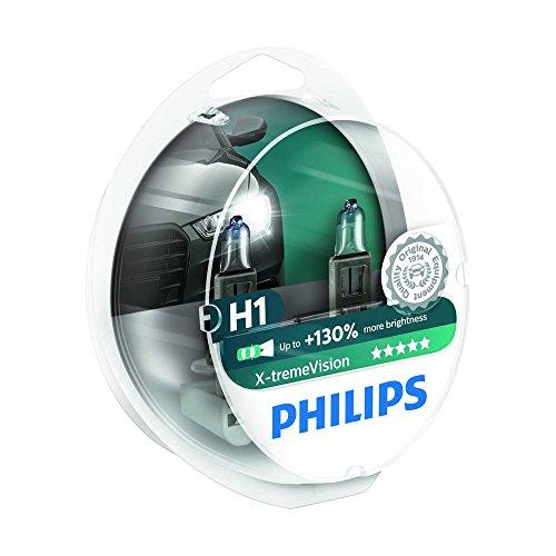 Philips 12258XV+S2 Lot de 2 ampoules de phare X-treme Vision H1 + 100%