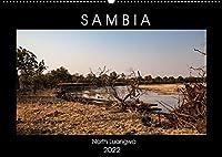 """Sambia """"Das wirkliche Afrika"""" (Wandkalender 2022 DIN A2 quer): North Luangwa ein wildes Naturerlebnis. (Monatskalender, 14 Seiten )"""