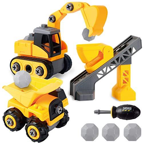 Juego de Construcción con excavadora de RuiDaXing