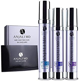 ANJALI MD Adult Acne 3-Step System - Clear Acne Fast, Reduce Breakouts & Acne Scars