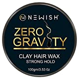 Newish Hair Wax Men Strong Hold 100gm