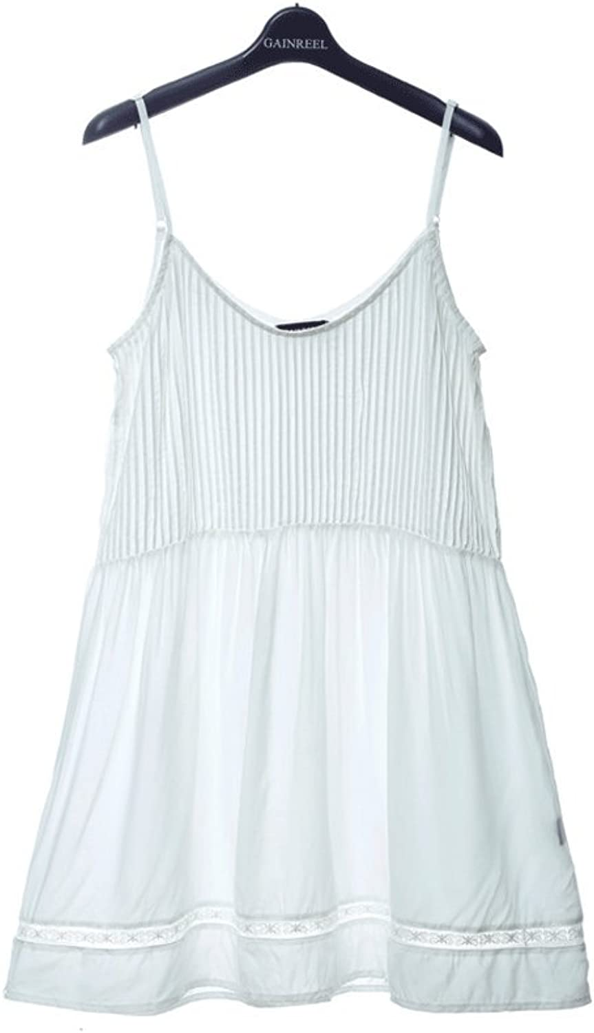 Summer sexy sling fashion girl pajamas ( color   White , Size   S )