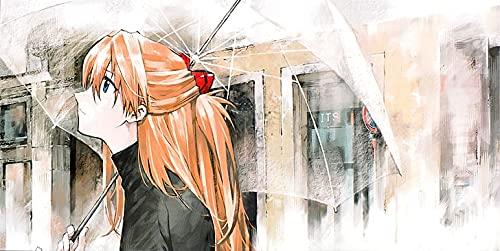 Neon Genesis Evangelion Asuka Langley Soryu Umbrella Anime Girls Poster...