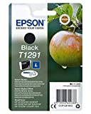 Epson Cartucho T1291 - Cartucho de Tinta, Negro Válido para los Modelos Epson Workforce, Epson Stylus, Epson Stylus Office y Otros, Ya Disponible en Amazon Dash Replenishment, Normal