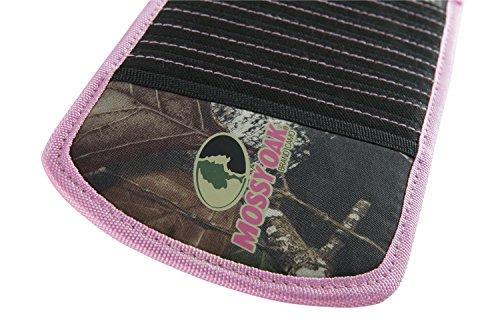 Mossy Oak 10 CD Visor Organizer, MONBU, Pink