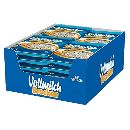Vollmilch Brocken (15 x 325g) / Karamellbonbons mit Füllung aus Vollmilch Creme