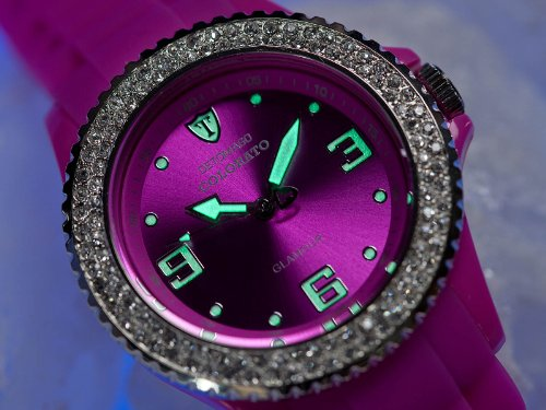 DeTomaso Colorato Ladies – Reloj de Cuarzo para Mujeres, Correa de