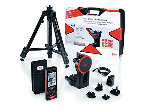 Leica Geosystems DISTO D810 Touch Laser Distance Meter, Measuring Range Max. 200 m by Leica