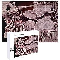 呪術廻戦 パズル 500ピース 38x52cm 両面宿儺 グッズ 人気 キャラクター 木製 jigsaw puzzle 子供 パズル 知育 かたはめパズル 大人 キャストパズル 美しい包装箱