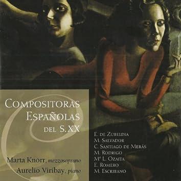 Compositoras Españolas del S.XX