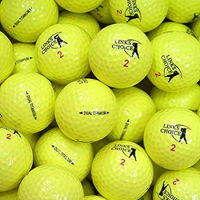 Links Choice Farbige Golfbälle
