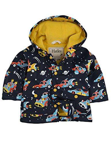 Hatley baby-jongens regenjas Infant Raincoat -Space Cars