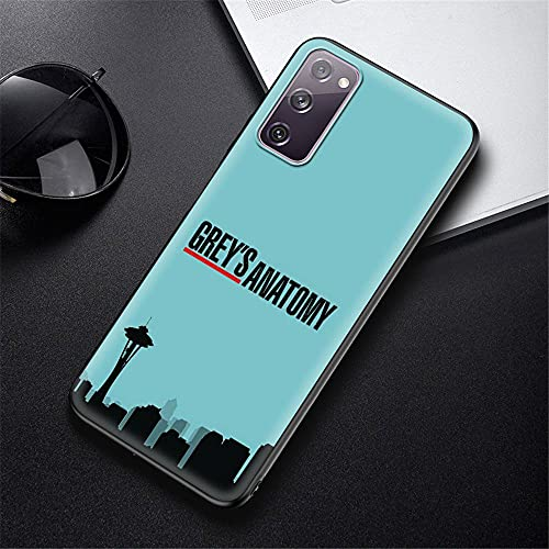 DEARLOYEA Samsung Galaxy S20 Hülle Black Soft Silicone Phone Hülle Am Erica N Tv Gr Eys A N Atomy Doctor P_0022
