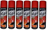 6 x Spider & Creepy Crawly Insect Killer Spider Spray No More Spiders 200ml New.