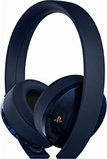 Sony PlayStation 4 Gold Wireless Headset 7.1 Surround Sound 500 Million - Nintendo Wii; GameCube