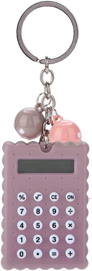 EBTOOLS Portable Pocket Calculator Mini Our shop OFFers the best service Cookie Cute Super sale period limited Candy Color