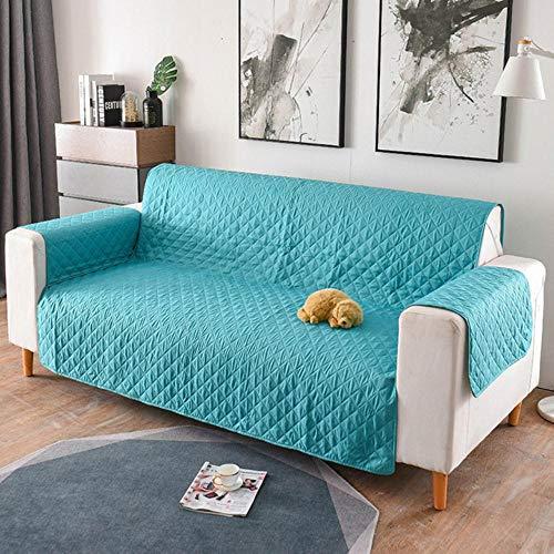 XCVBSofa hoes 1/2/3-zits verwijderbare sofa-hoes voor huisdieren Woonkamer Meubels Bank Hoes fauteuil Sofa-hoes, petrol