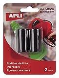 APLI 101558 - Recambio rollo tinta para máquina etiquetadora de 1 línea
