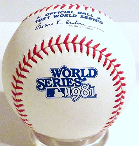 Amazon | Rawlings 1981年ワールドシリーズ公式ゲーム野球 ...