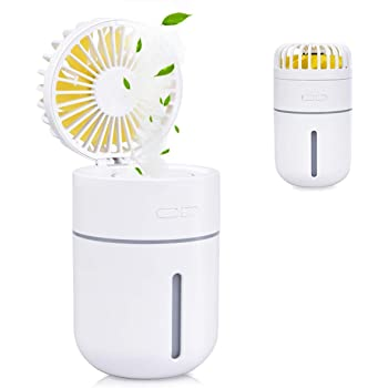 Humidificador Portátil 400ml USB Mini Humidificador Ultrasónico ...