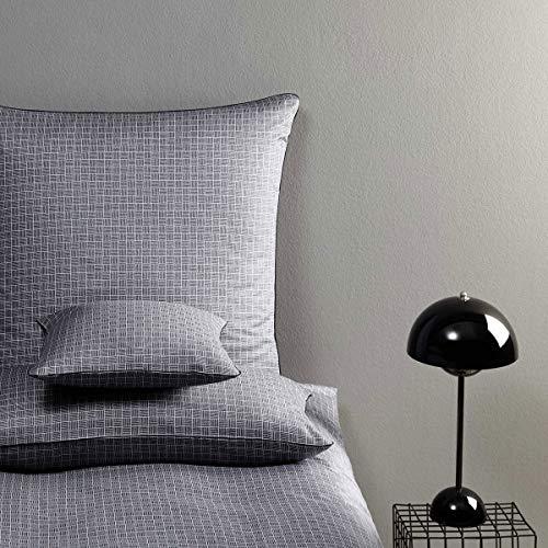Yes for bed Elegante Bettwäsche | 739 Step schwarz | 9 | 135 x 200 cm