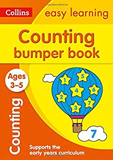 Counting Bumper Book Ages 3-5: Prepare for Preschool with Easy Home Learning