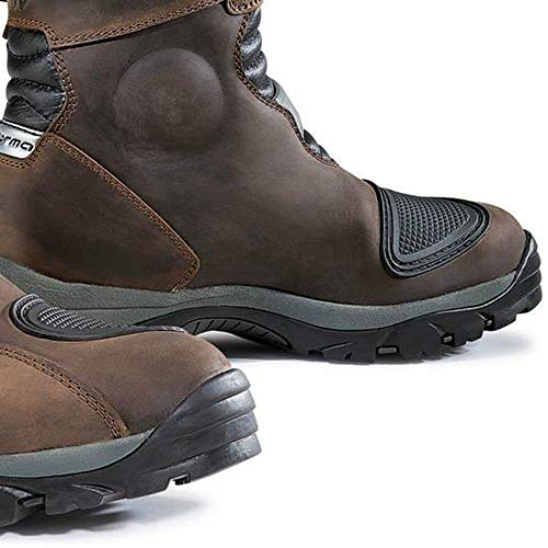 FORMA Stiefel Moto Adventure low WP Eichzulassung CE, Braun, 44 - 2