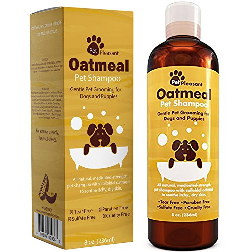 Honeydew Oatmeal Pet Shampoo for Dogs & Puppies – Best All Natural...
