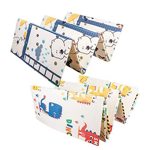 DXX Tapis Jeu pour Enfants Tapis Rampant Tapis de Yoga Tapis de Jeu Double /épaisseur c/ôt/é imperm/éable 200 x 150CM