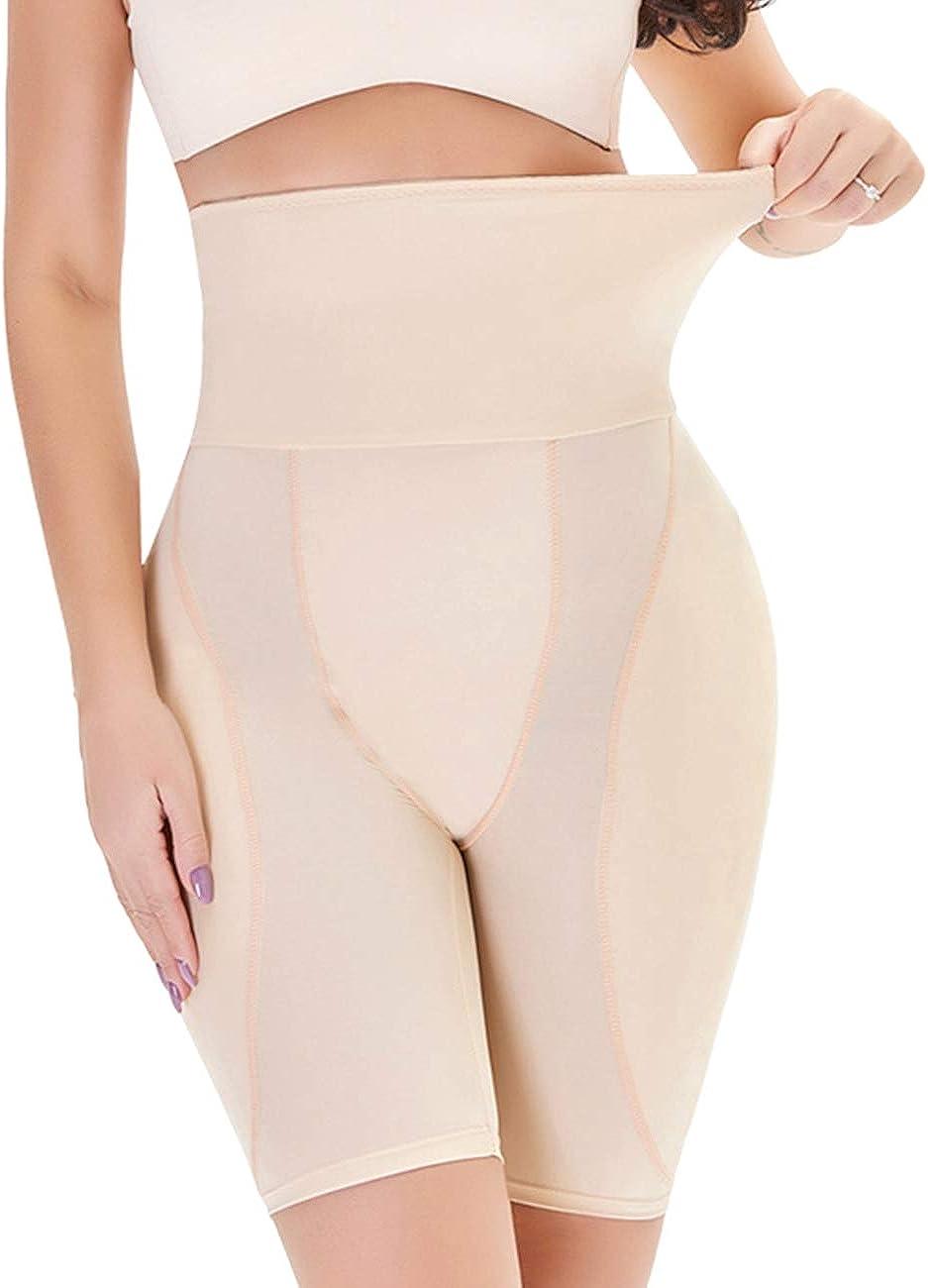 RIBIKA Women's High Ranking TOP18 Waist Tummy Control Limited Special Price Padded Enhan Panties Hip
