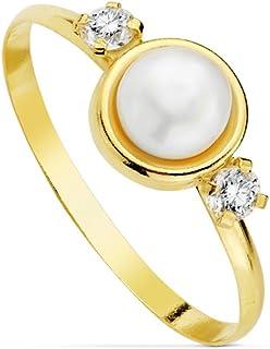 545f1704c5d1 Alda Joyeros Sortija Oro Amarillo Lidia 18 Ktes - 1ª Comunión niña