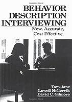 Behavior and Descriptive Interviewing