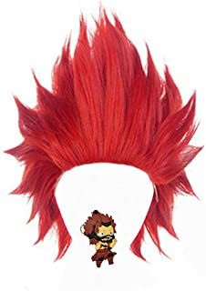 cosplay wig red