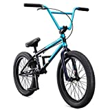 Mongoose Legion L80 Freestyle BMX Bike Line for Beginner-Level to Advanced Riders, Steel Frame, 20-Inch Wheels, Teal