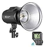 Neewer i4T EX 400W Monolight Compatible con Nikon 2,4G TTL HSS Estudio Flash Estroboscópico con Disparador Inalámbrico Lámpara de Modelado Reciclar en 0,2-1,3s 520 Flashes de Potencia Completa