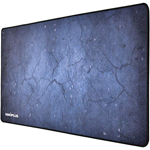 Gaming Mouse Pad, Large Mouse Pad XL Gray, Mouse Pads for Computers 31.5×15.75In, Large Extended Gaming Keyboard Mouse Pads, Big Desk Mouse Mat Designed for Gaming Surface/Office, Durable Edges