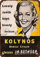 Dental Cream ティンサイン ポスター ン サイン プレート ブリキ看板 ホーム バーために