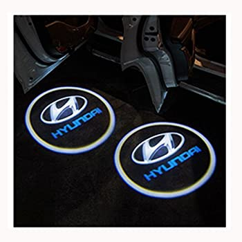 2Pcs Wireless Universal Car Projection LED Projector Door Shadow Light Welcome Light Laser Emblem Logo Lamps Kit No Drilling Required for Scion