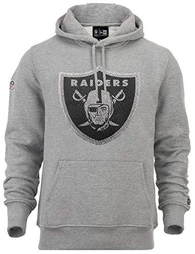 New Era Oakland Raiders NFL Hoody - Fan Pack - Heather Grey - L