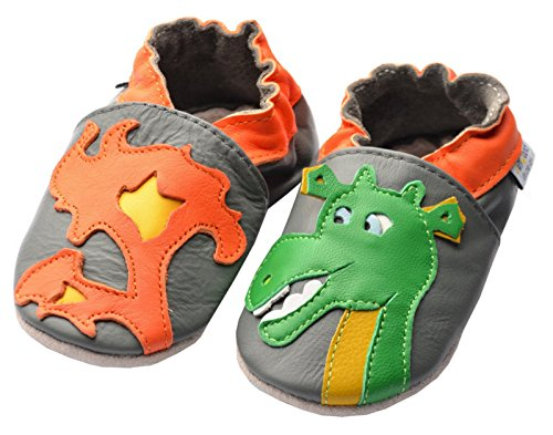 Jinwood designed by amsomo Dragon Grey Mini Shoes, EU 24/25
