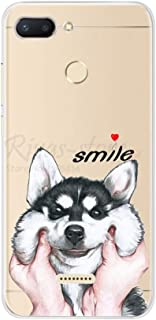 LIXUANXUAN phone case for Xiaomi Redmi 6 Case Redmi 6 Case Cover Soft Silicone Pattern Back Cover on for Coque Redmi6 Xiaomi Redmi 6 Phone Case Bumper