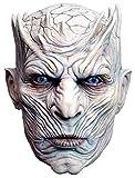 Trick or Treat Studios Men's Game of Thrones-Night's King, White Walker Men's Full Head Mask, Multi, One Size