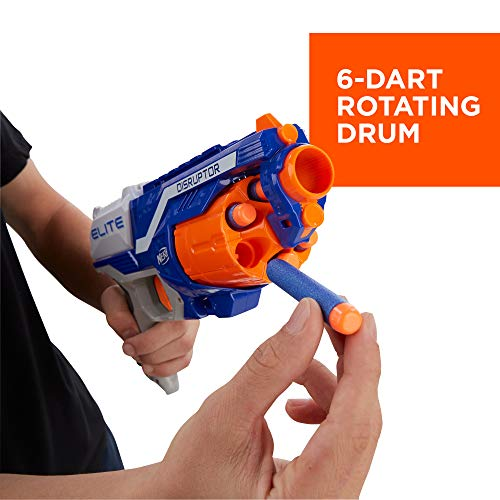 The Nerf Disruptor has a rotating drum