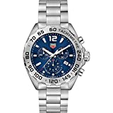 Tag Heuer Formula 1 Blue Sunray Dial Chronograph Mens Watch CAZ101K.BA0842