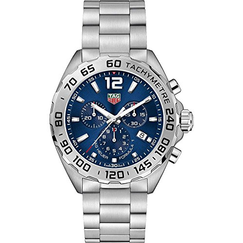Tag Heuer Formula 1 Blue Sunray Dial Chronograph Mens Watch CAZ101K.BA0842