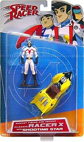 Speed Racer Art Asylum Die-Cast Series 1 Classic Racer X with Shooting Star by Speed Racer