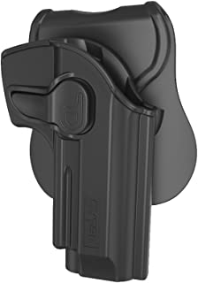 CYTAC Beretta 92 FS Holsters, OWB Holster for Beretta 92 92FS 96FS GSG92, Taurus PT92, Girsan Regard MC, Tactical Outside The Waistband Paddle Holsters -Right Handed