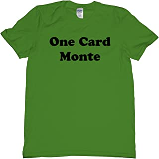 One Card Monte Competitior T Shirt Mens N