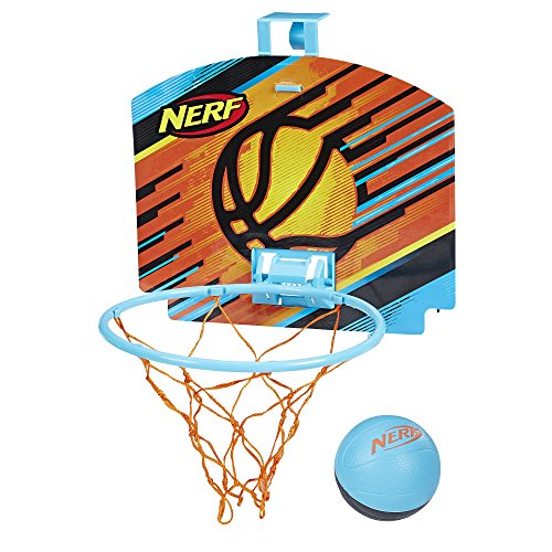 Nerf Sports Nerfoop, Blue/Black Ball