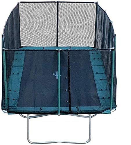 Best Trampoline USA - Galactic Xtreme Gymnastic Outdoor Trampoline with Net Enclosure - High Performance Commercial Grade I Life-time Warranty, Heavy Weight Capacity (10 X 17 Ft, 10X17 Rectangle)